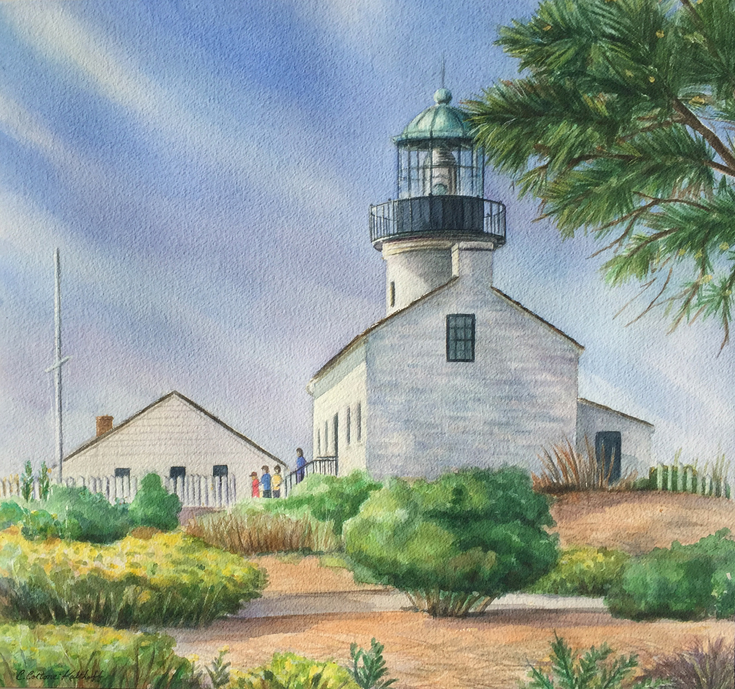 Item 125 - Cottone-Kolthoff, Old Point Loma Lighthouse