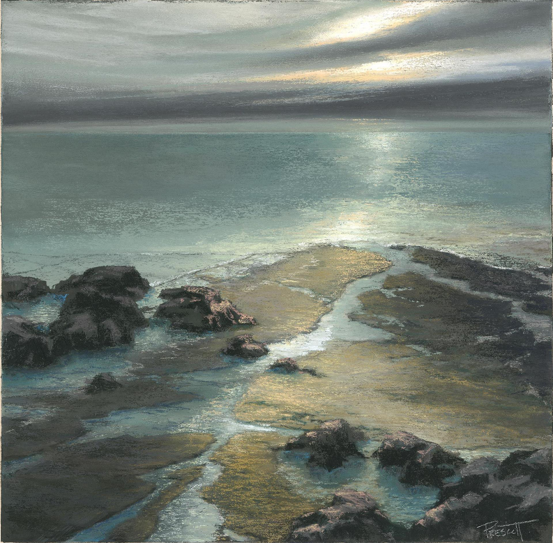 Fading Light: Crystal Cove by Patricia Prescott Sueme