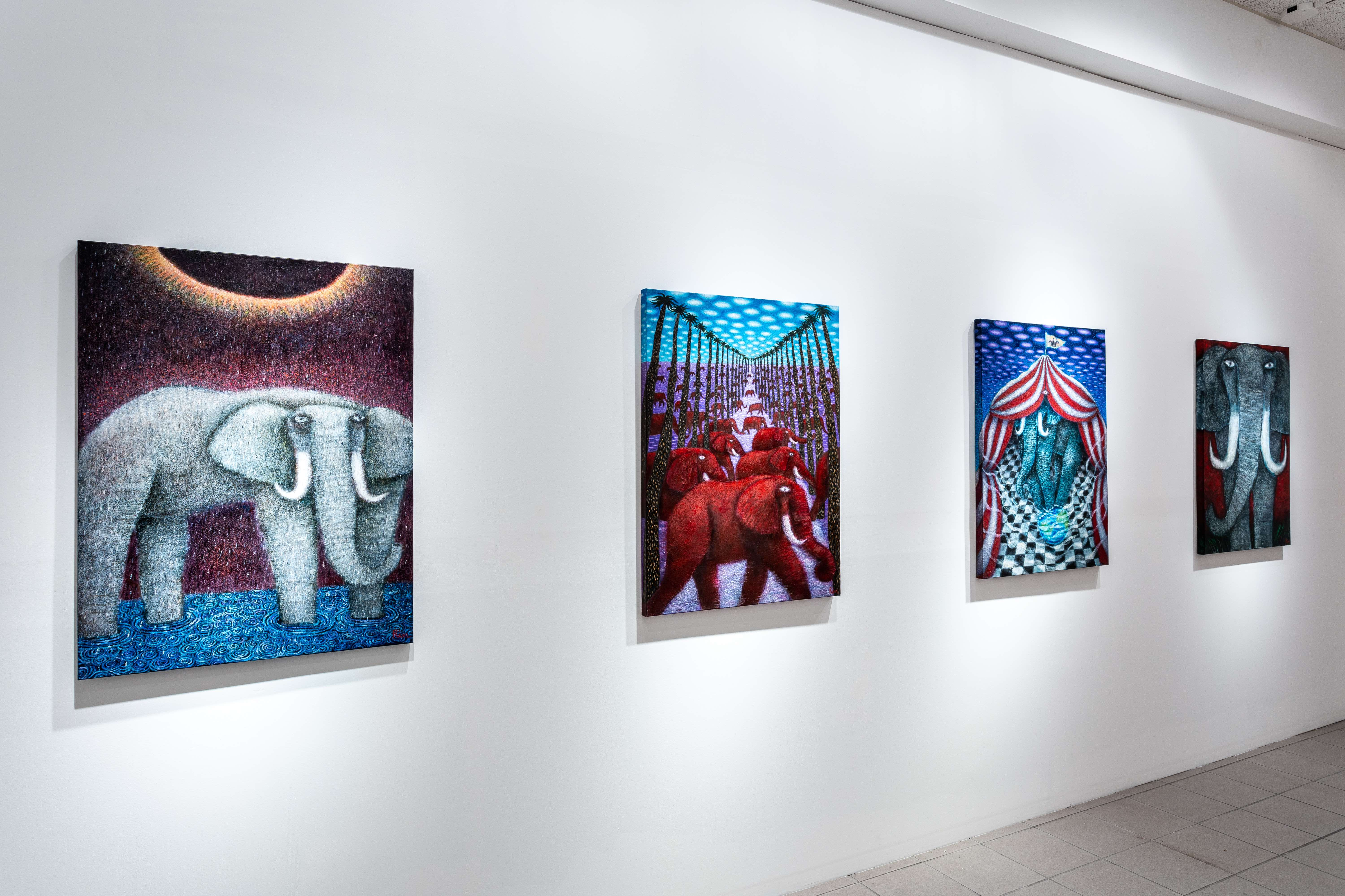 Rin Colabucci, Elephant in the Room series.