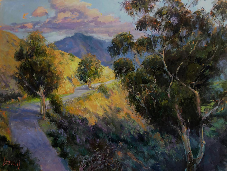 Kymberlee Stanley, Catalina Island,  Hogsback Trail