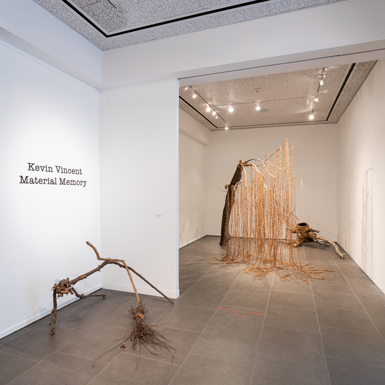 Material Memory, gallery installation