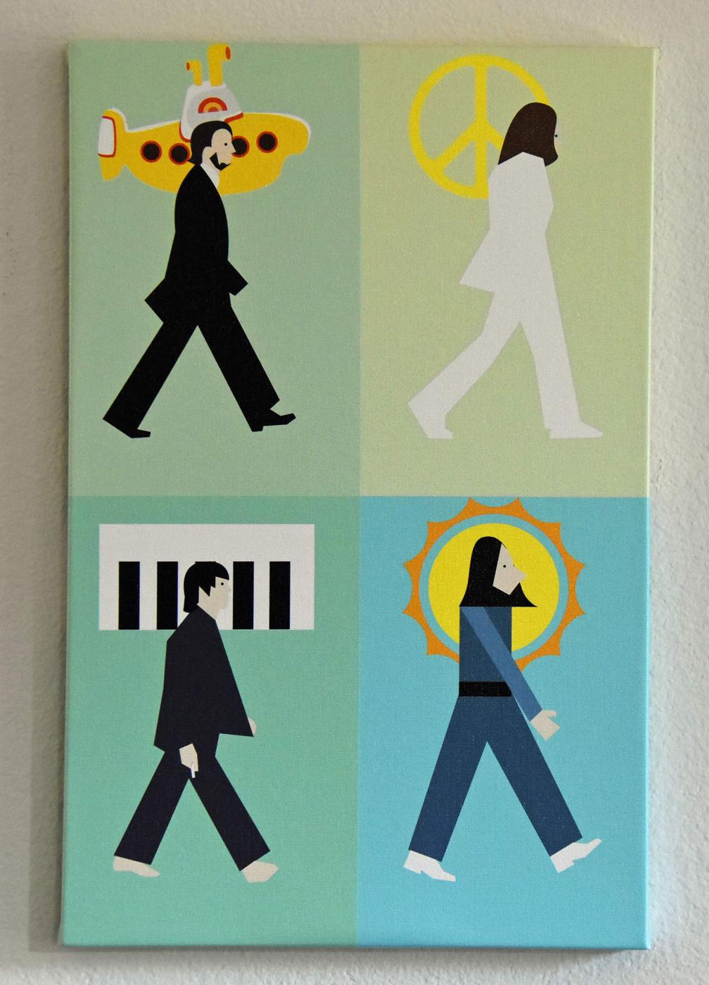 Beatles Abbey Road by Austin John Jones