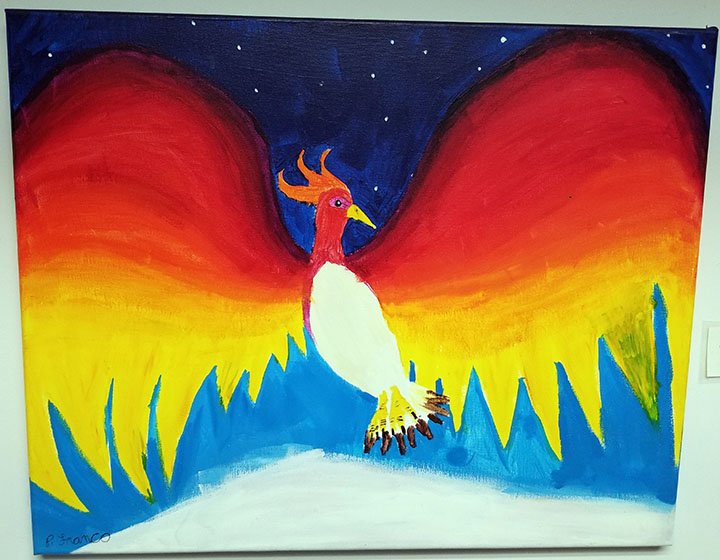 Firebird for the Suite by Parker C. Franco