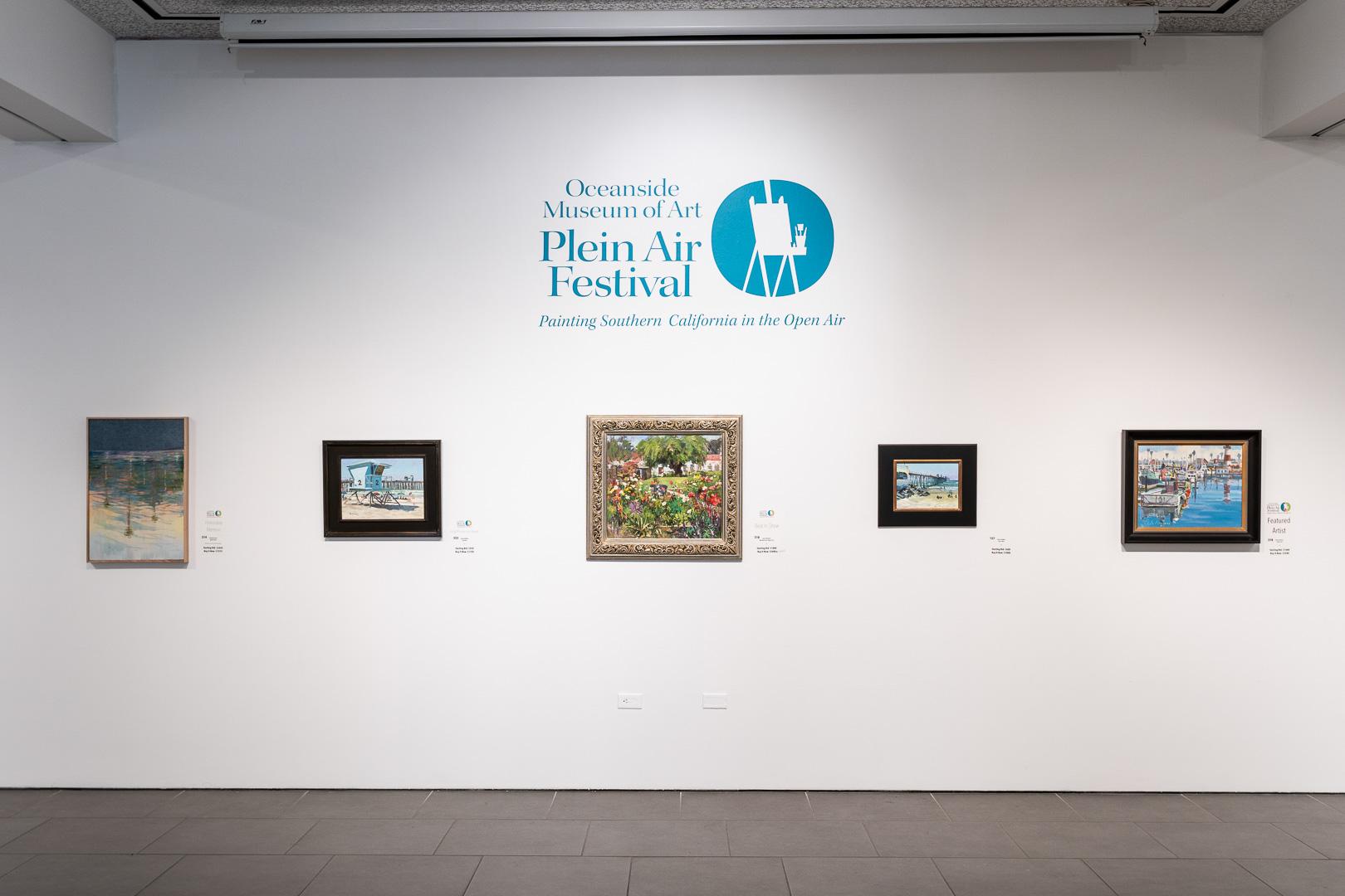 Plein Air Festival Juried Exhibition