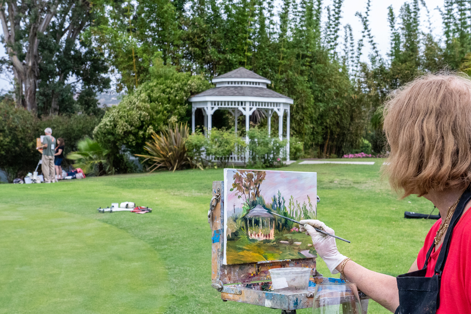 El Camino Country Club Paint Out, July 26