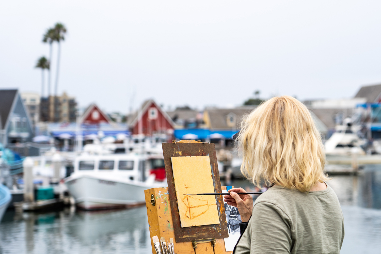 Workshop with Mark Fehlman at the harbor, July 25