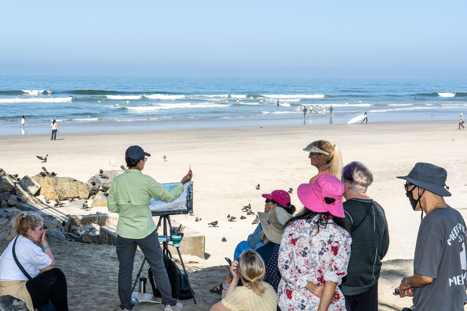 Workshop with Shuang Li at the Pier, July 28
