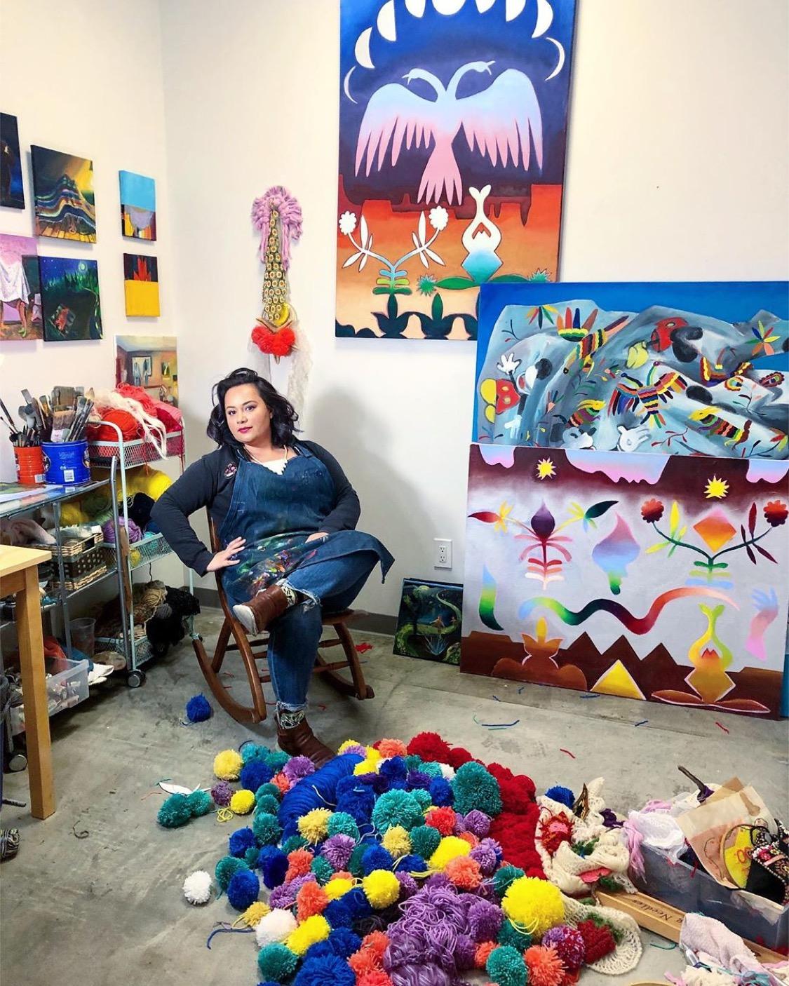 Artist Katie Ruiz