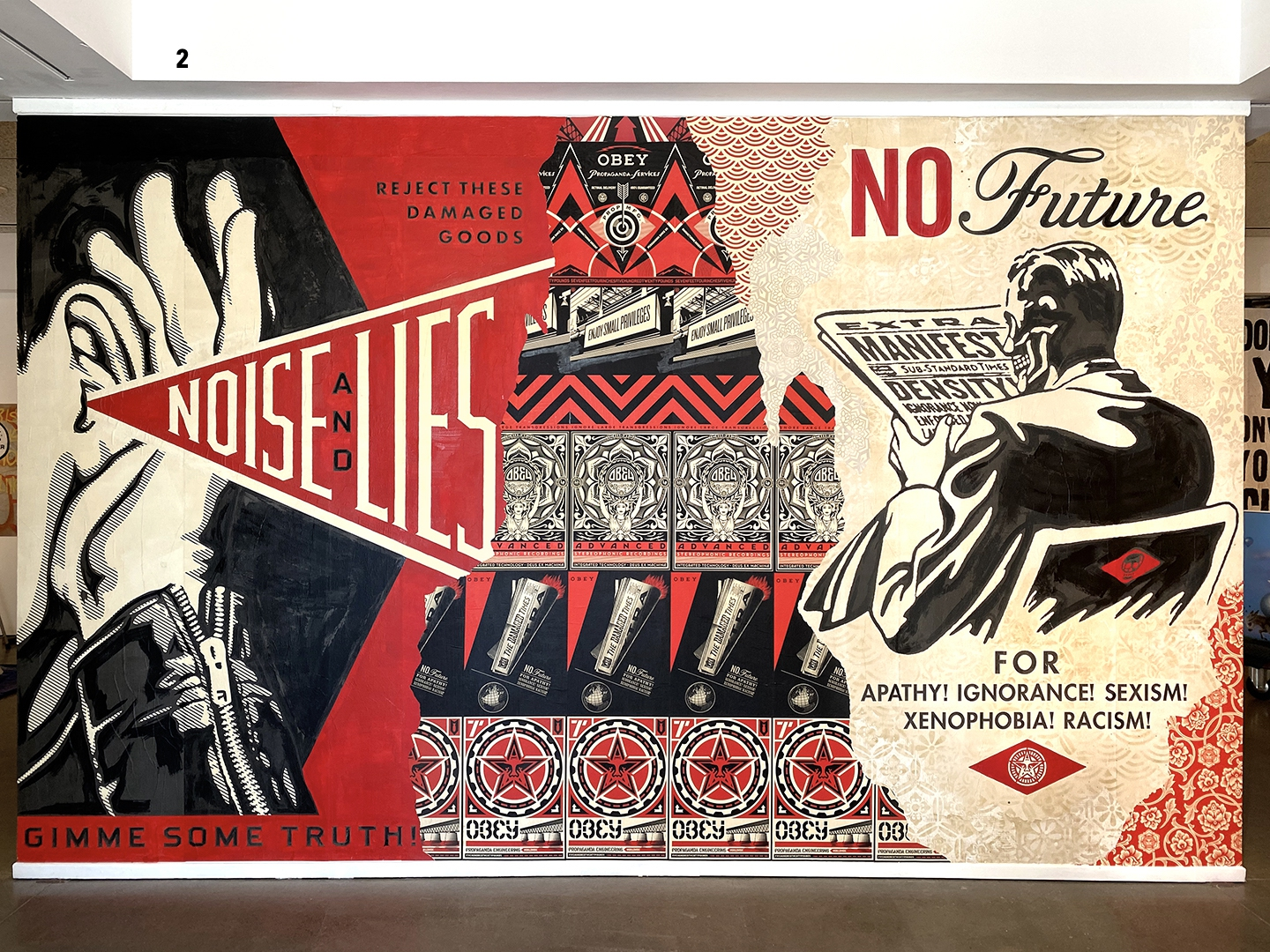Noise & Lies by Shepard Fairey