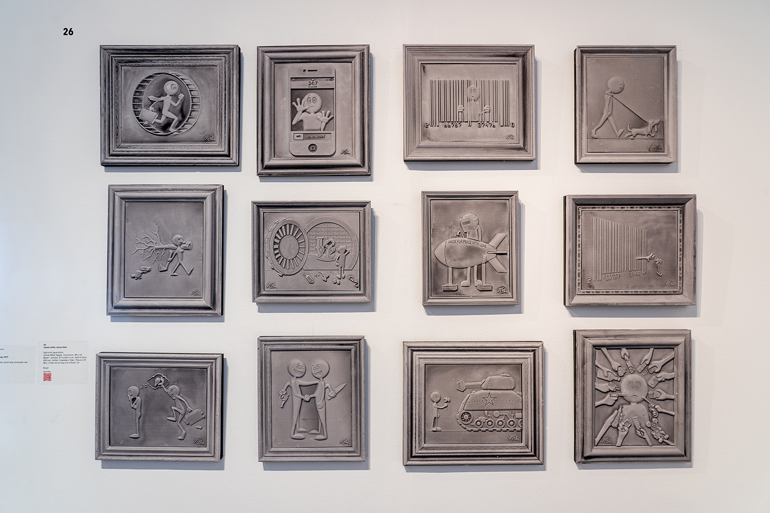 Cement reliefs by Kai