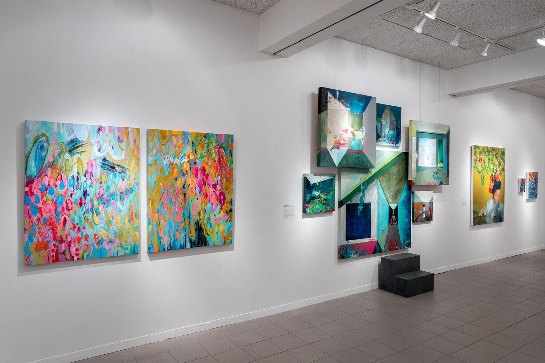 Twenty Women Artists: NOW gallery view