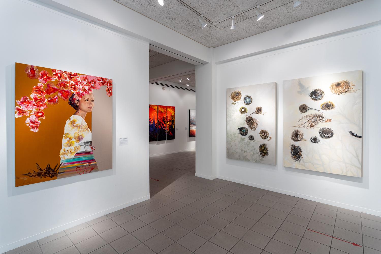 Twenty Women Artists: NOW gallery exit